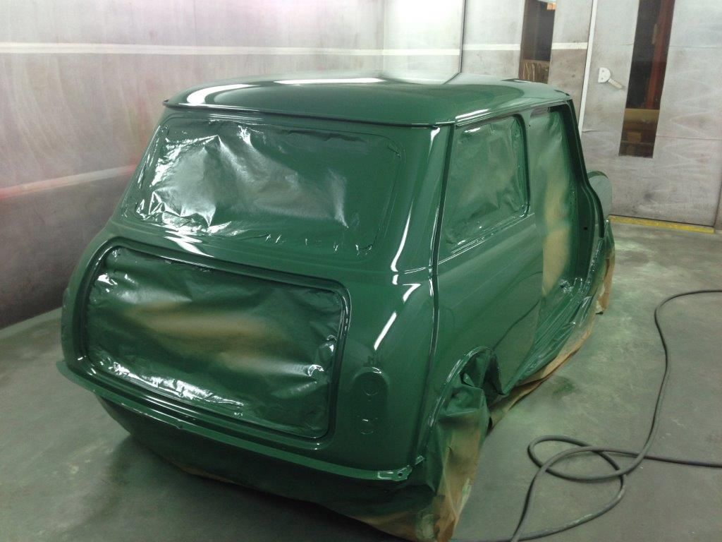 Poole Classic Car restoration