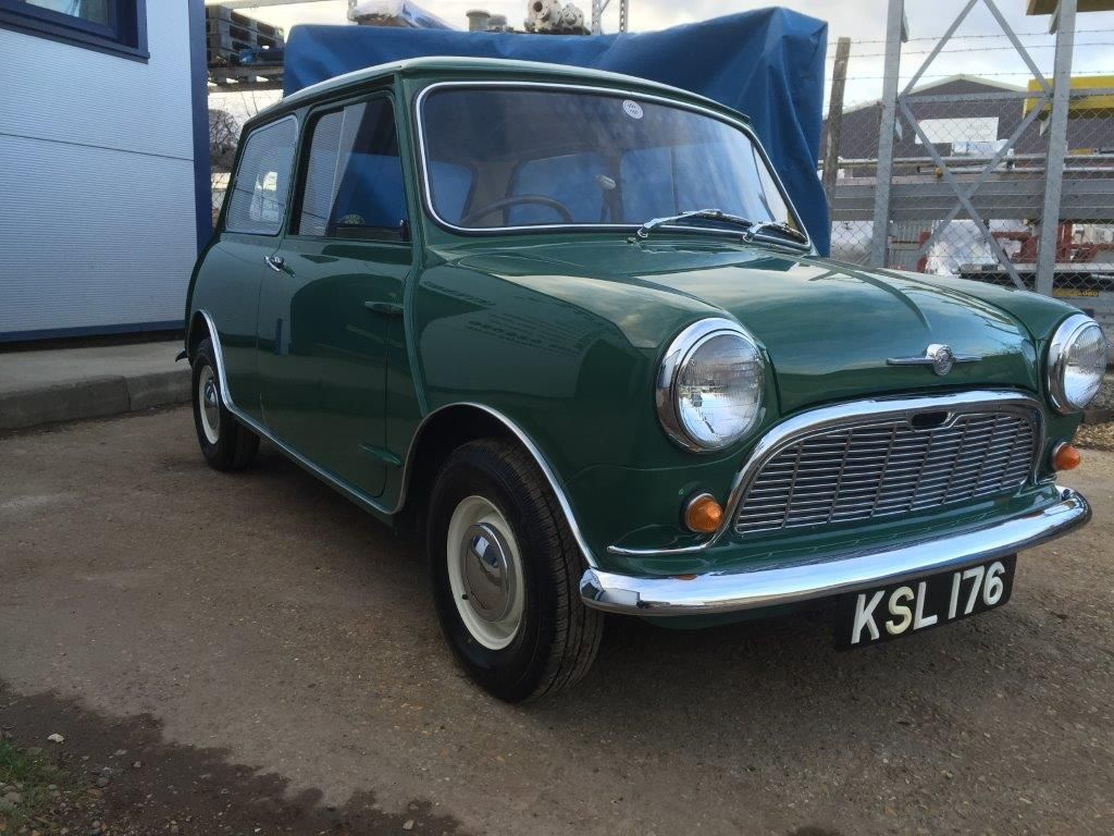 Austin Mini Mk1 >> Austin MK1 Mini | Classic Car Restoration Bournemouth | Trickett Welding