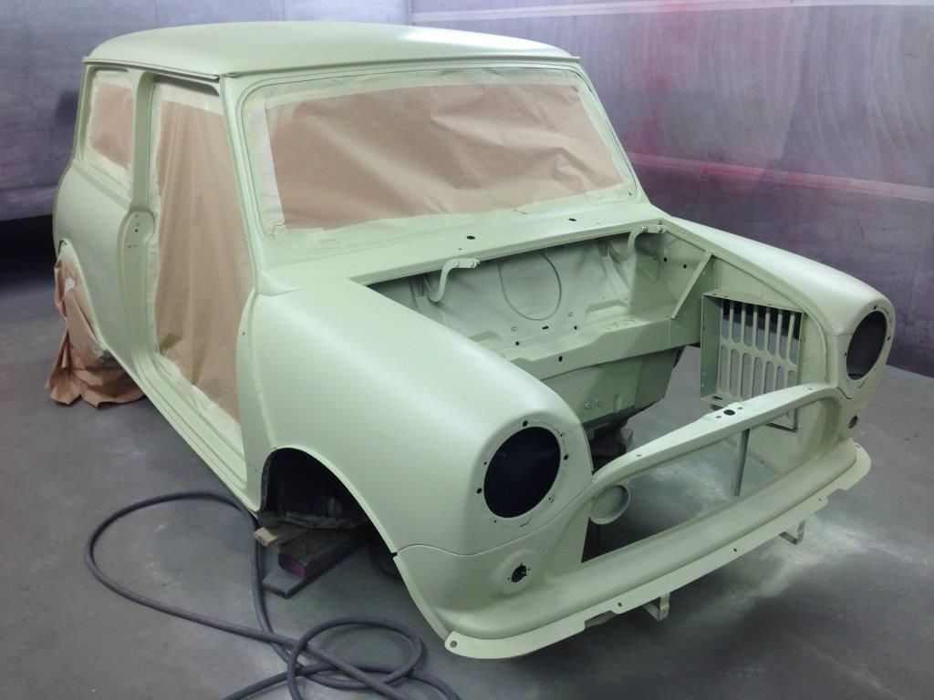 Bournemouth Classic Car Restoration